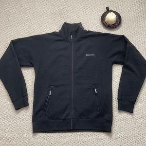 Men's Bench Zip up Funnel Neck Sweater